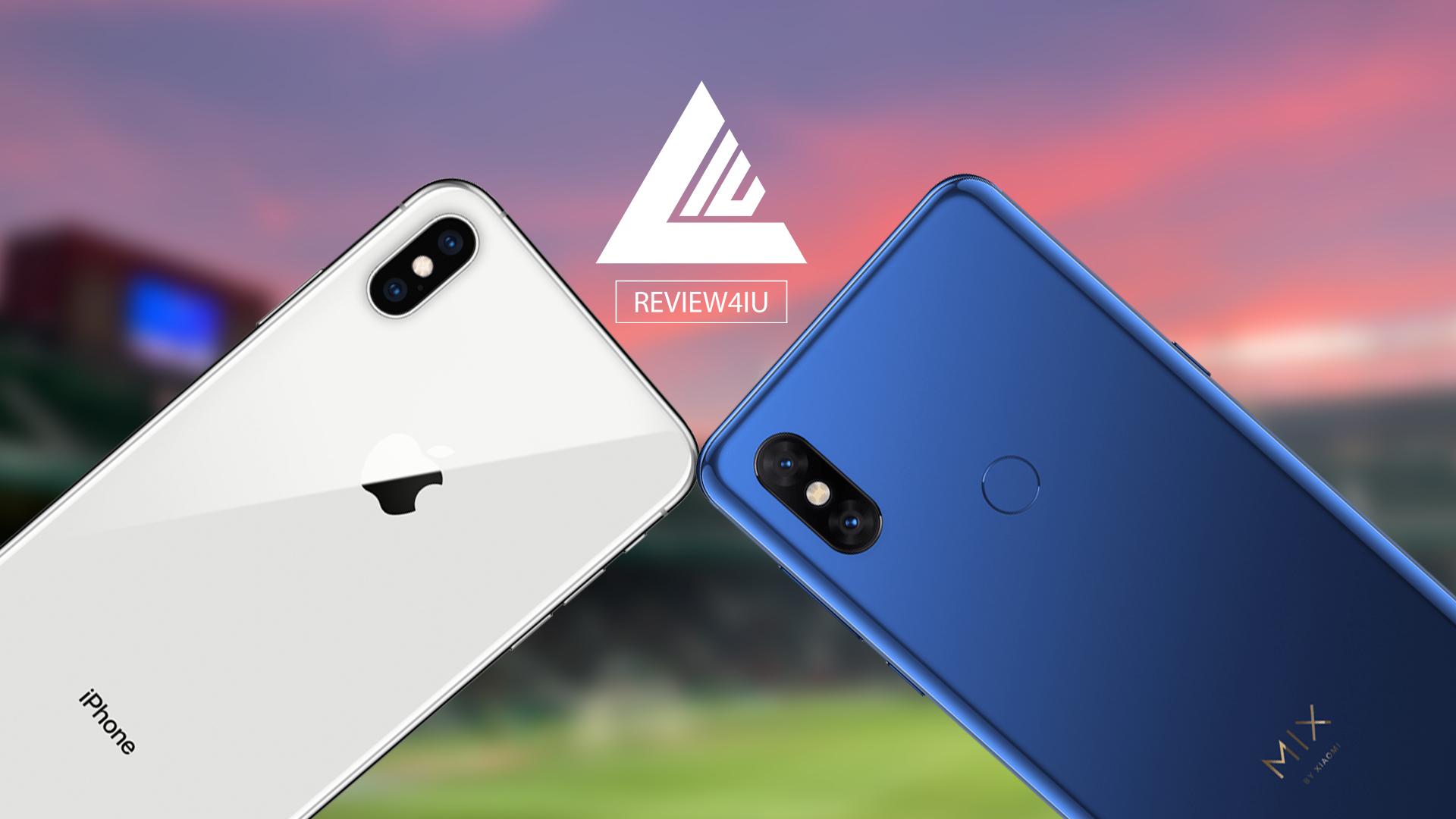 Xiaomi Mi MIX 3 VS iPhone XS MAX