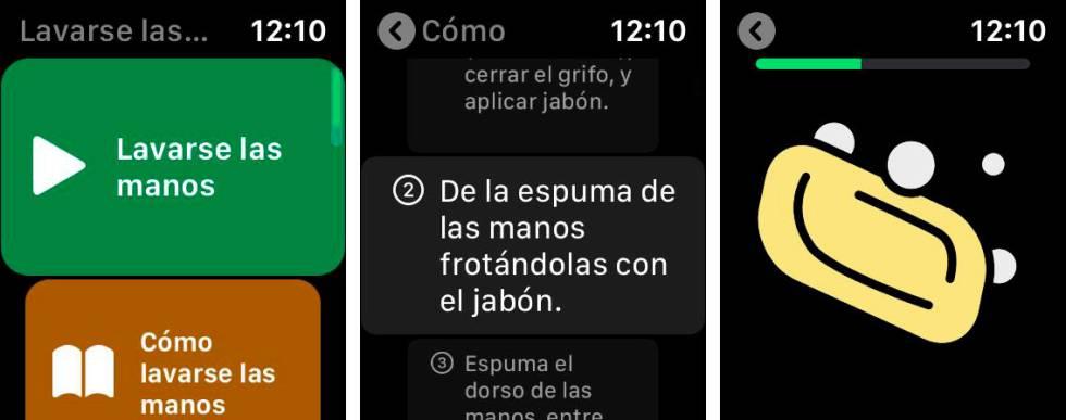 app de Apple watch