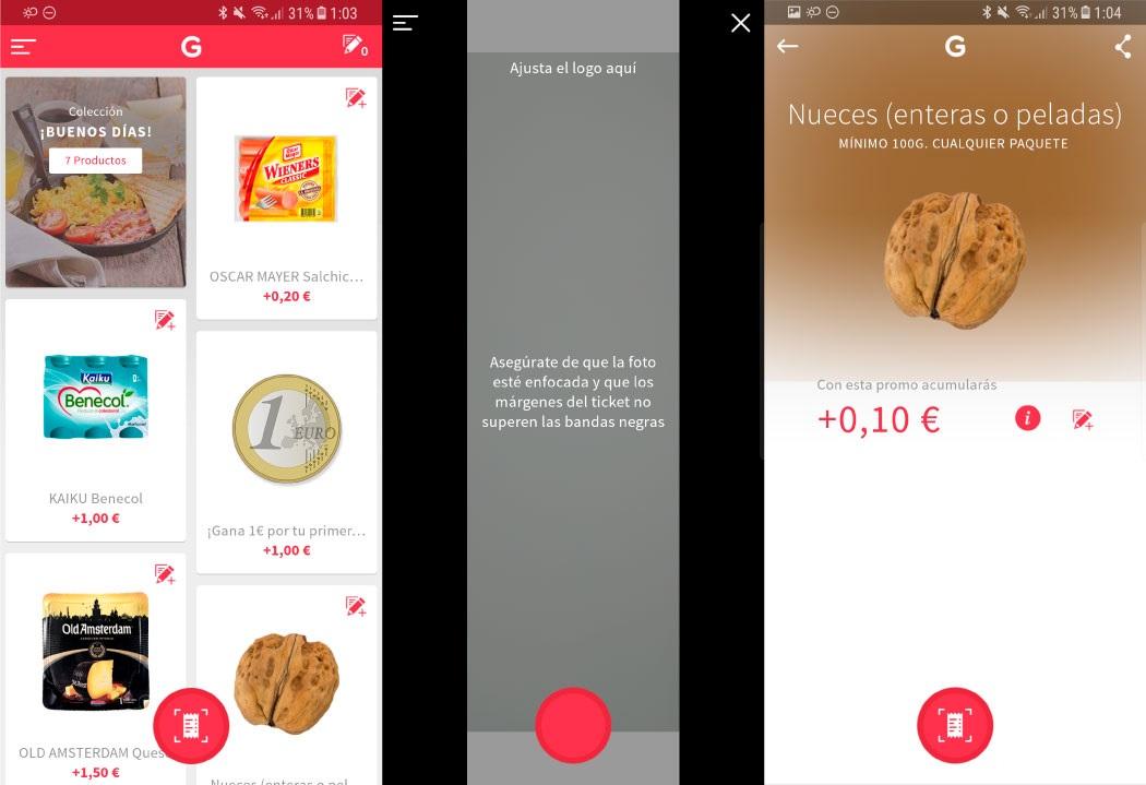 La app Gelt te ayudara a recuperar dinero invertido en tus compras del supermercado en simples pasos